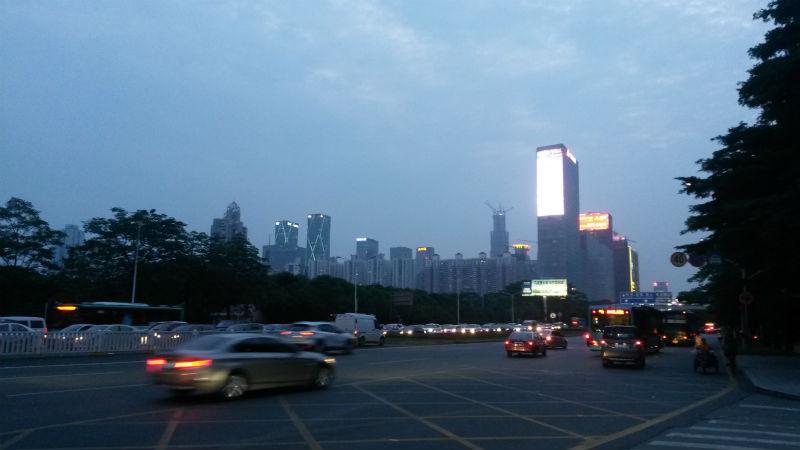 Переезд электронщика в Шэньчжэнь
