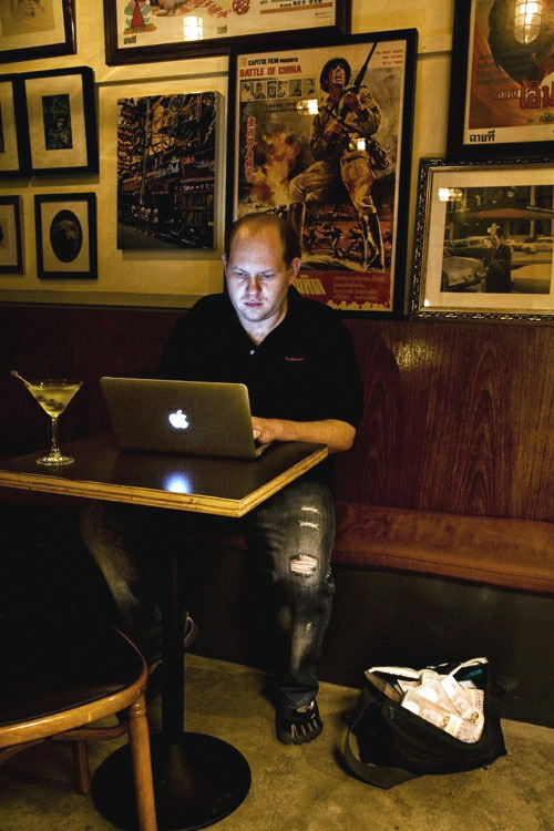 Кевин Митник осваивает профессию будущего
