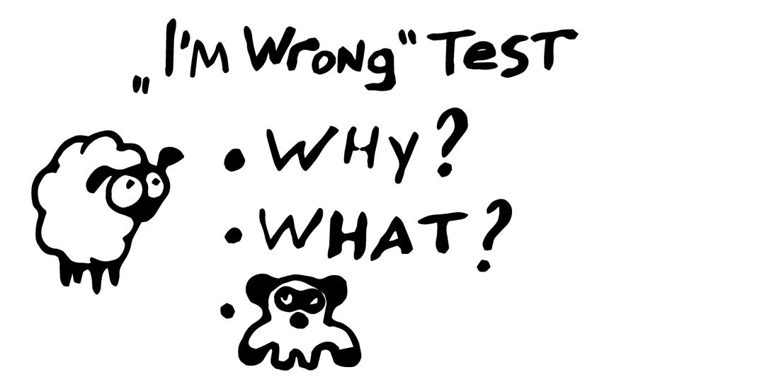 Метод самоопровержения и приходящая панда в принятии неоднозначных решений