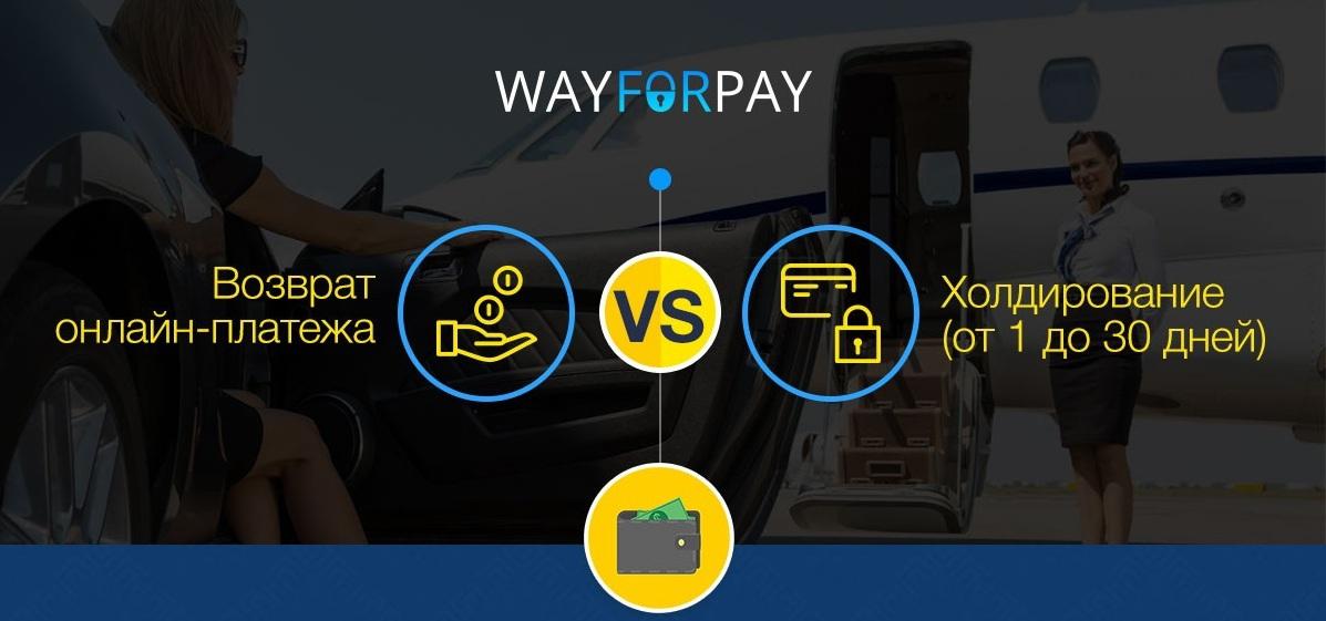 WayForPay: Возвраты онлайн-платежей или холдирование - 1