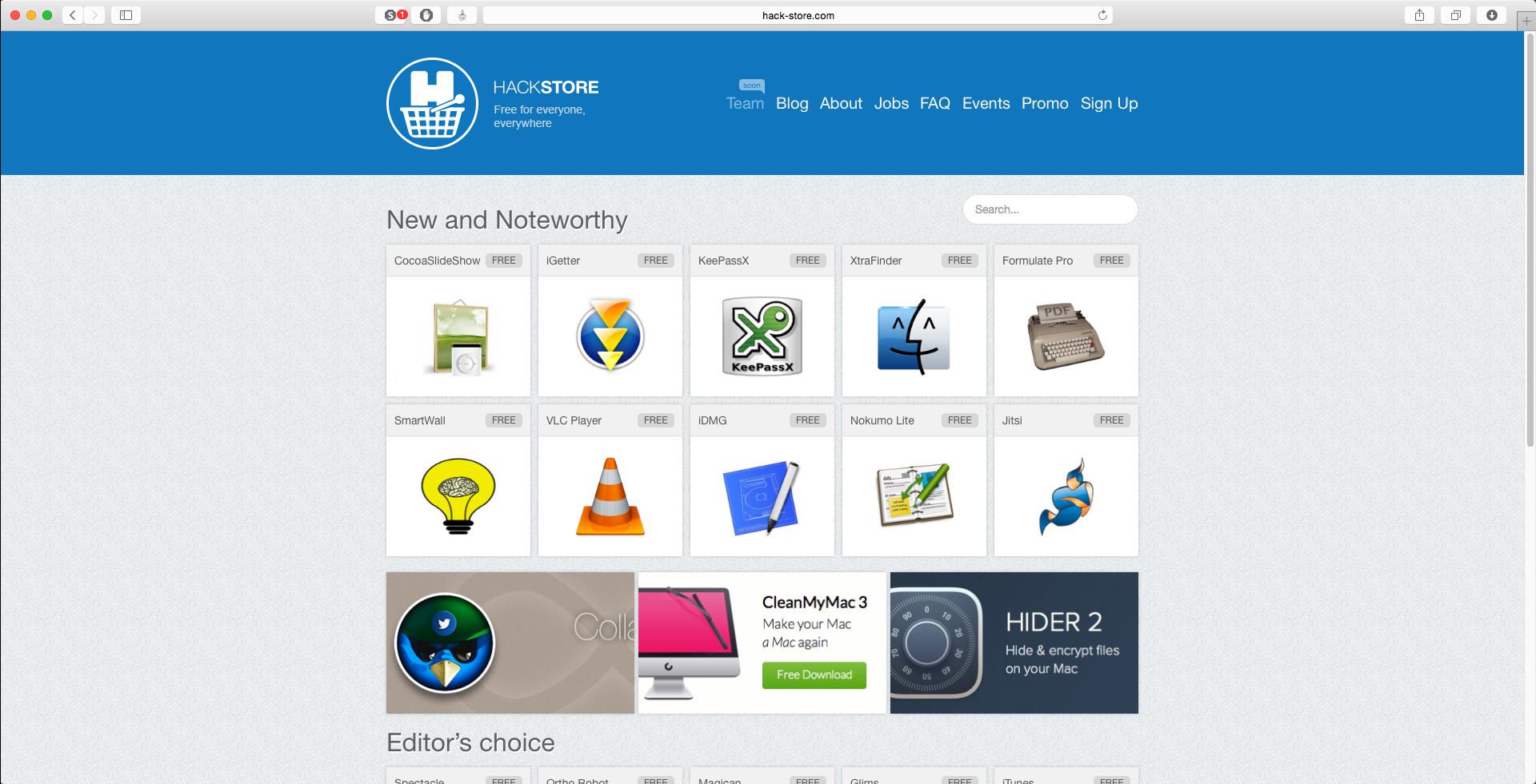 HackStore Preview — Новый функционал на сайте - 2
