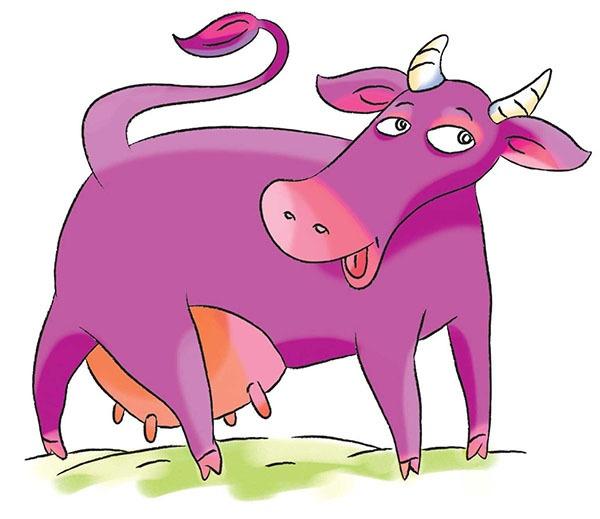 Фиолетовая корова - 1