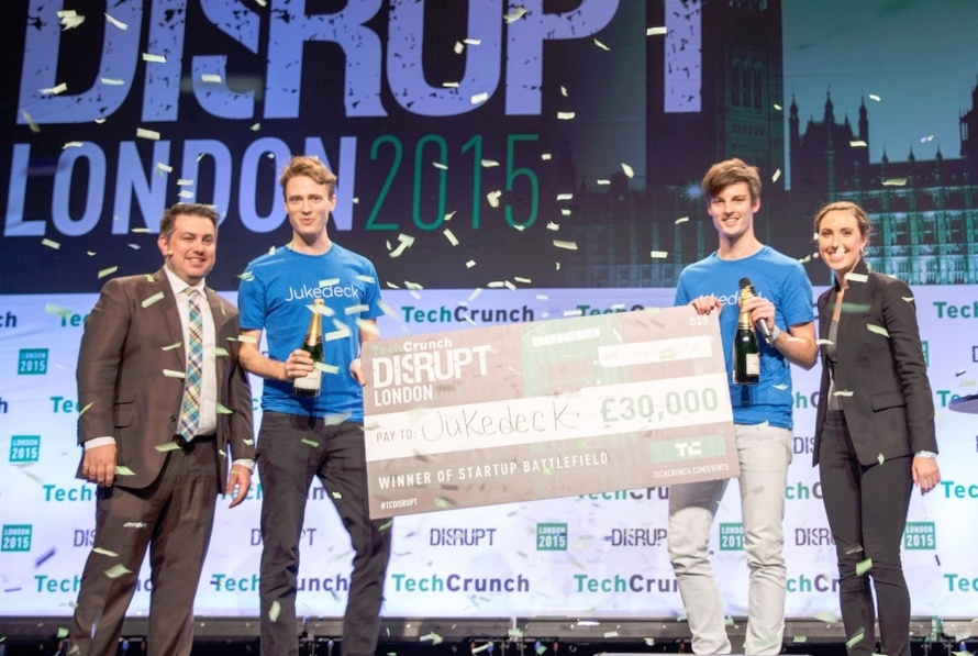 TechCrunch определил лучший стартап года на мероприятии Disrupt Europe 2015 - 1