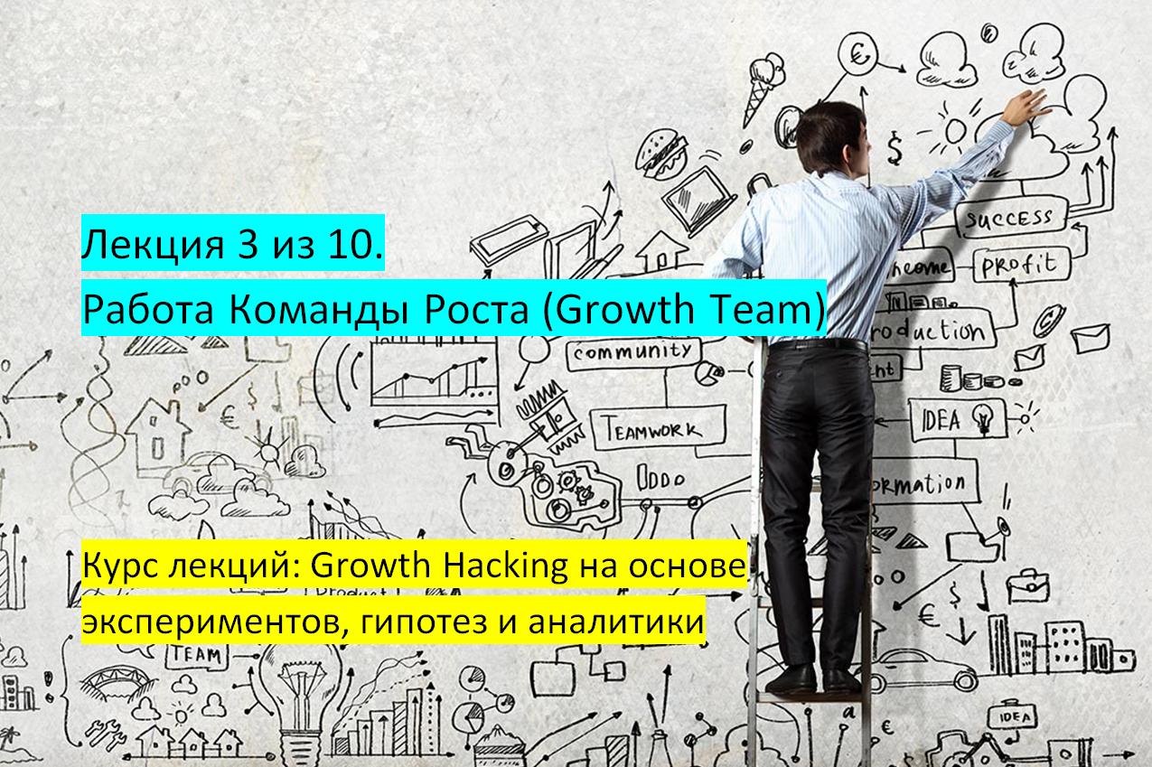 Лекция 3 из 10. Работа Команды Роста (Growth Team) - 1