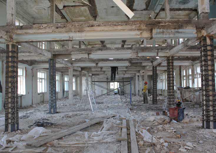 Как мы реконструировали здание суда в Смоленске: от лазерных сканов лепнины под плесенью до релиза - 20