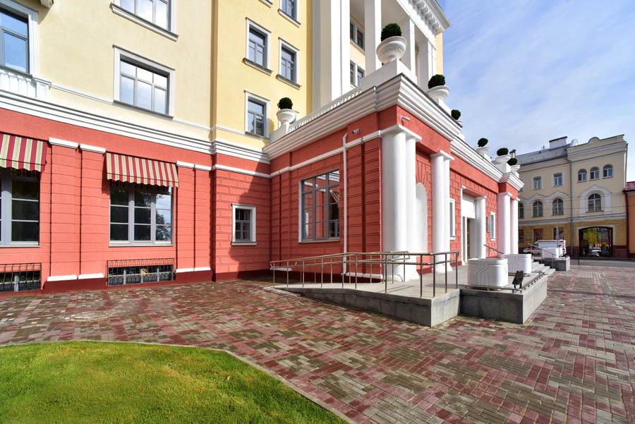 Как мы реконструировали здание суда в Смоленске: от лазерных сканов лепнины под плесенью до релиза - 22