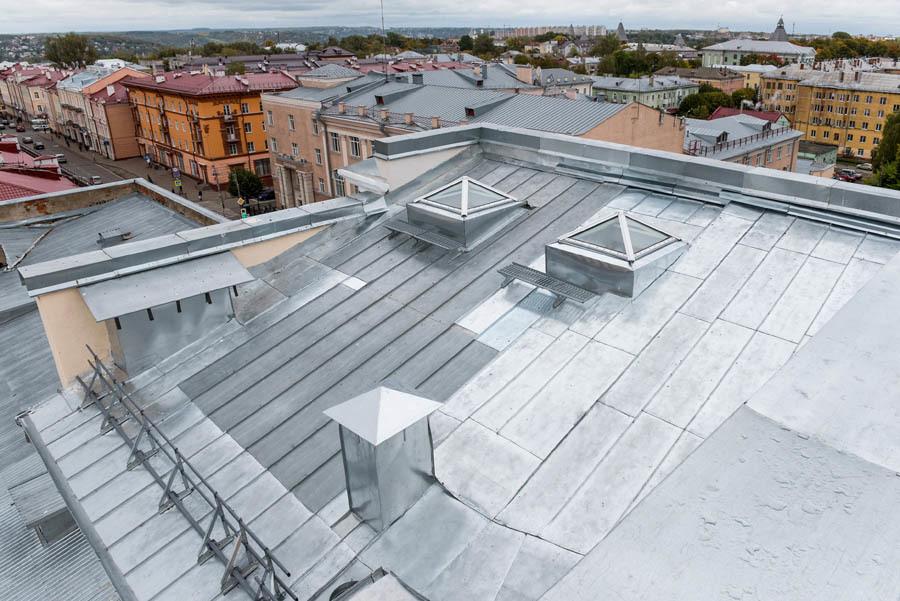Как мы реконструировали здание суда в Смоленске: от лазерных сканов лепнины под плесенью до релиза - 30