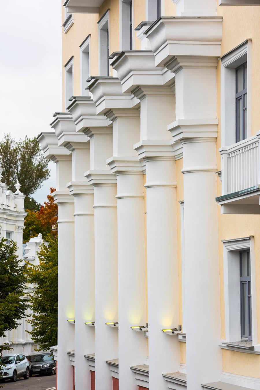 Как мы реконструировали здание суда в Смоленске: от лазерных сканов лепнины под плесенью до релиза - 47