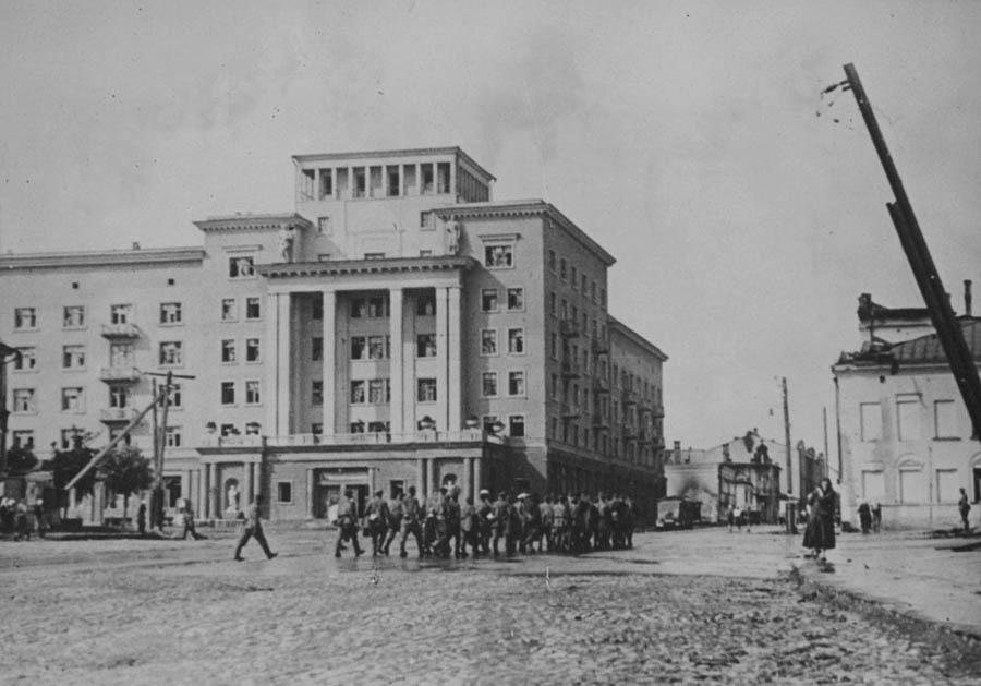 Как мы реконструировали здание суда в Смоленске: от лазерных сканов лепнины под плесенью до релиза - 5
