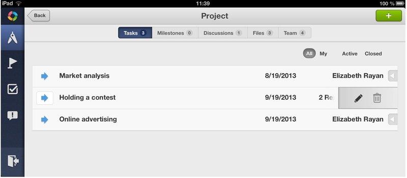 TeamLab PM для iOS как старт серии мобильных приложений для бизнеса