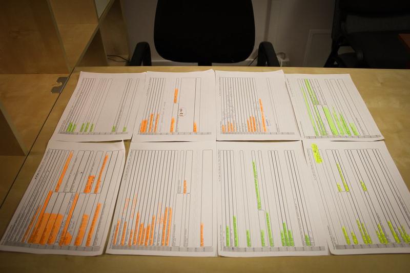 Инструмент планирования и контроля из подручных материалов
