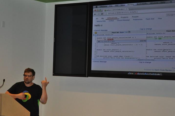 Отчет с финала Google Code In, Калифорния