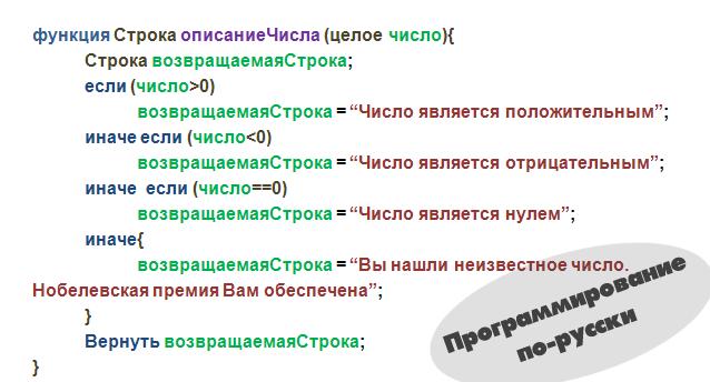 Русское программирование. Еще одна точка зрения