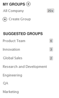 Предлагаемые группы